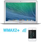 MacBook Air 11インチ + 高速インターネット WiMAX2+ 付